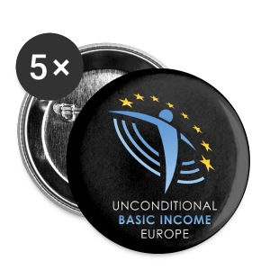 UBIE button black - Buttons middel 32 mm