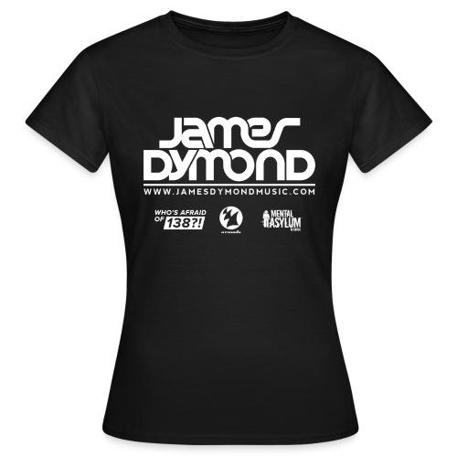 James Dymond Original Female T-Shirt (White Logo) - Women's T-Shirt