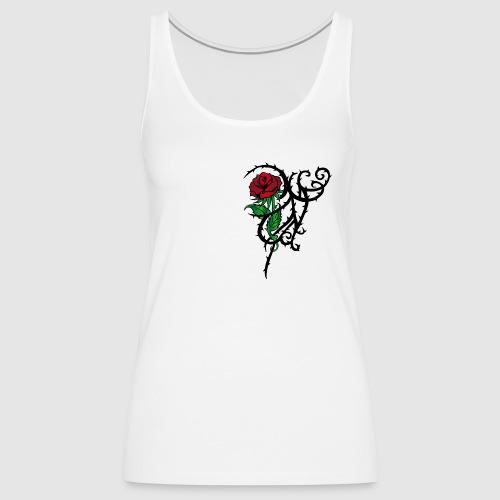 Red Rose - Frauen Premium Tank Top