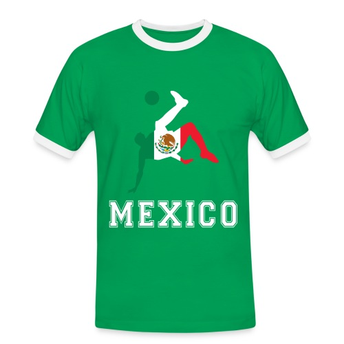 Mexiko Fan-Shirt - Männer Kontrast-T-Shirt