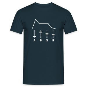 ADSR envelope - Men's T-Shirt
