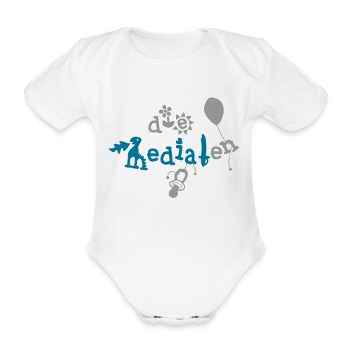 Baby Body Die Medialen - Junge - Baby Bio-Kurzarm-Body