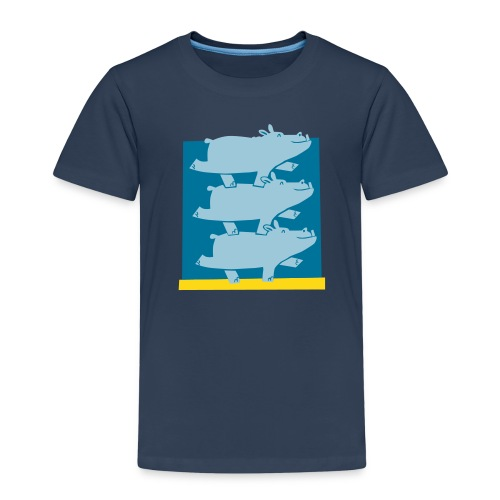 Hippos Kid - Kinder Premium T-Shirt