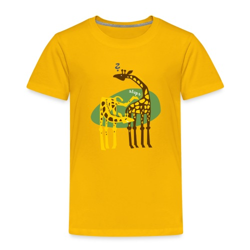 Giraffenscherz Kid - Kinder Premium T-Shirt