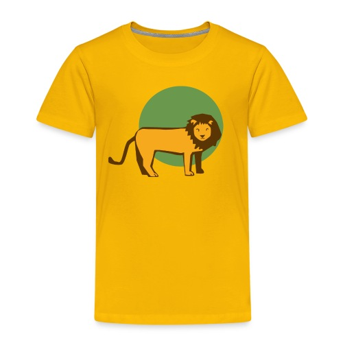 Löwe Kid - Kinder Premium T-Shirt