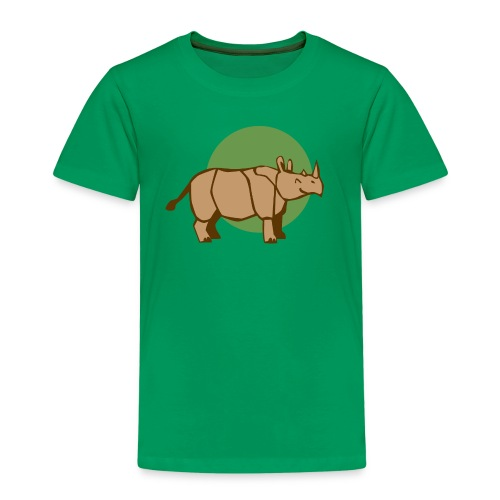 Nashorn Kid - Kinder Premium T-Shirt