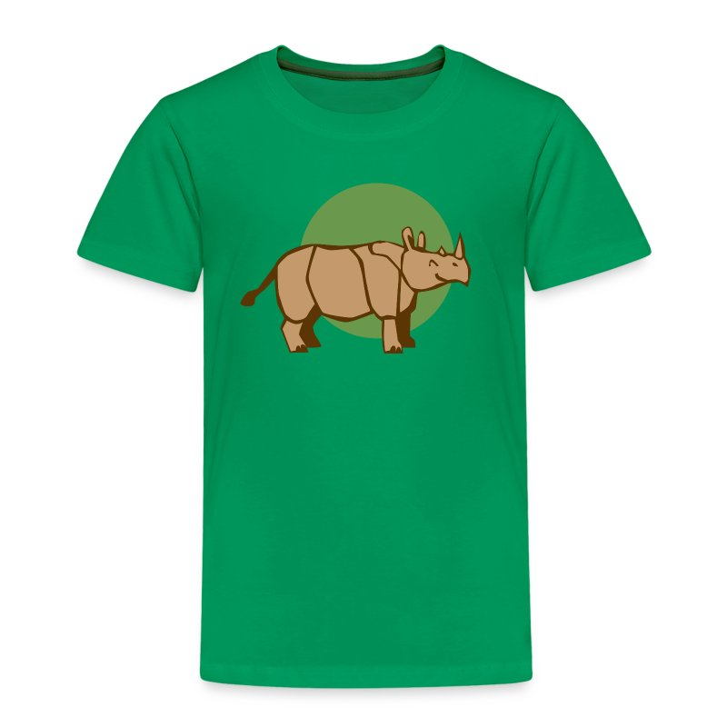 Nashorn Kid - Kinder Premium T-Shirt