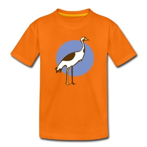 Kranich Kid - Kinder Premium T-Shirt