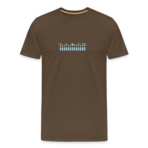 mehroderweniger - Männer Premium T-Shirt