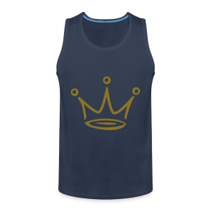 CROWN Abstract Tank Top - Mannen Premium tank top