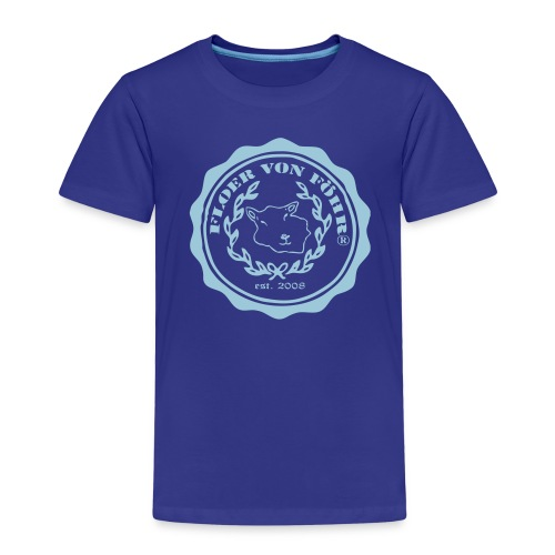 T-Shirt Floer von Föhr® Kinder Premium - Kinder Premium T-Shirt