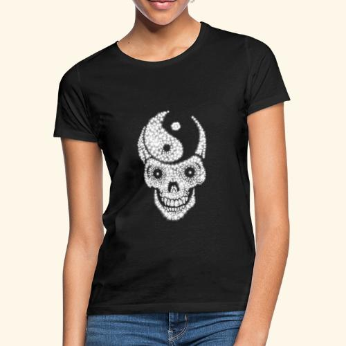 Totenschädel Damien - Frauen T-Shirt