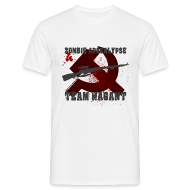 T-Shirts ~ Männer T-Shirt ~ Zombie Apocalypse Team Nagant