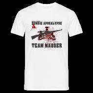 T-Shirts ~ Männer T-Shirt ~ Zombie Apocalypse Team Mauser
