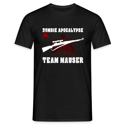 Zombie Apocalypse Team Mauser - Männer T-Shirt