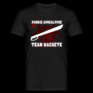 T-Shirts ~ Männer T-Shirt ~ Zombie Apocalypse Team Machete