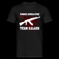 T-Shirts ~ Männer T-Shirt ~ Zombie Apocalypse Team Kalash