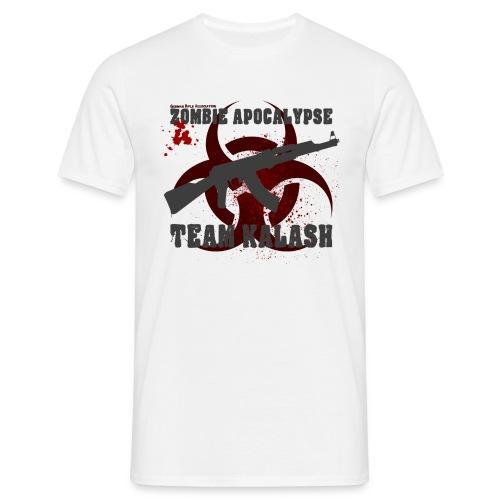 Zombie Apocalypse Team Kalash - Männer T-Shirt
