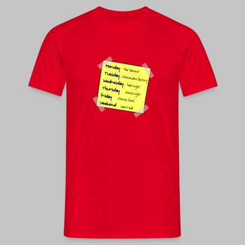 Tshirt Homme (man) Big Bang Week - Men's T-Shirt
