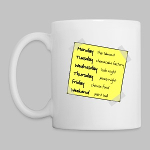 Mug Big Bang Week - Mug