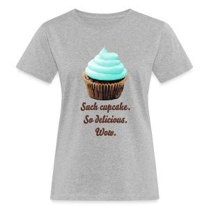 Such Cupcake mint T-shirt - Ekologisk T-shirt dam