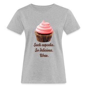 Such Cupcake rose T-shirt - Ekologisk T-shirt dam
