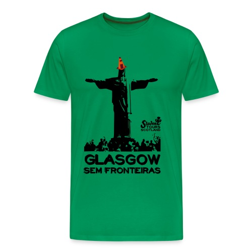 Brazil (Rio de Janeiro) BLACK  - Men's Premium T-Shirt