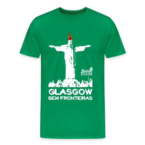 Brazil (Rio de Janeiro) WHITE  - Men's Premium T-Shirt