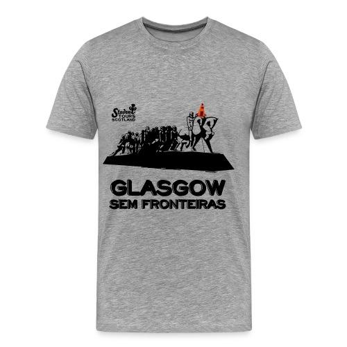 Brazil (São Paulo) BLACK  - Men's Premium T-Shirt