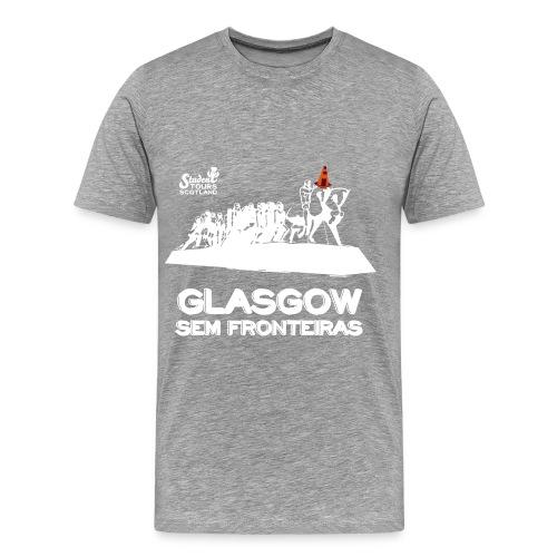 Brazil (São Paulo) WHITE  - Men's Premium T-Shirt