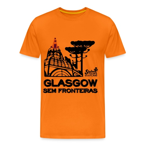 Brazil (Paraná) BLACK  - Men's Premium T-Shirt