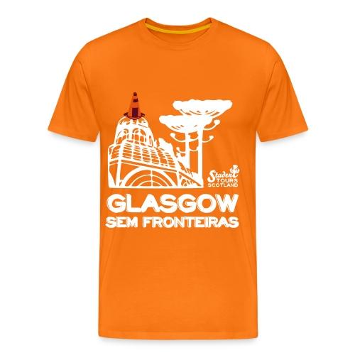 Brazil (Paraná) WHITE  - Men's Premium T-Shirt