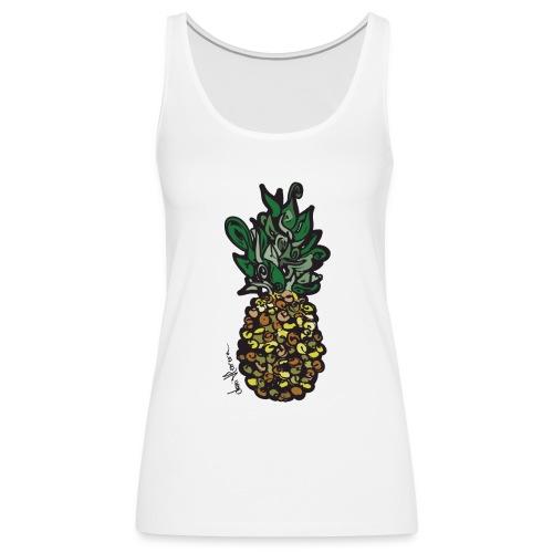 Piñaple - Mujer Tank Top - Dani Herrera - Camiseta de tirantes premium mujer