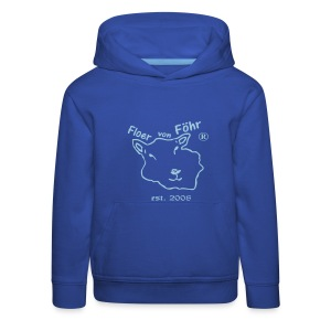 Floer von Föhr ® Kinder Kapuzen-Sweater - Kinder Premium Hoodie