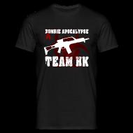 T-Shirts ~ Männer T-Shirt ~ Zombie Apocalypse Team H&K