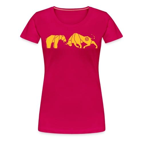 Bulle & Bär T-Shirt - Frauen Premium T-Shirt