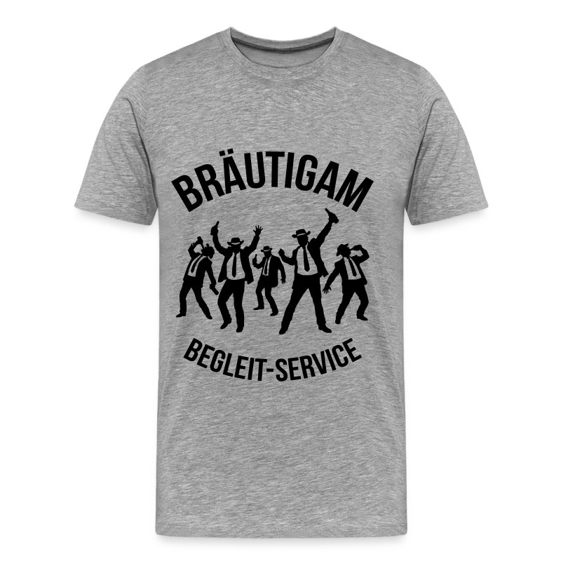 Bräutigam Begleit Service JGA T Shirt