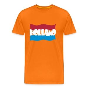 Hollandse vlag - Mannen Premium T-shirt