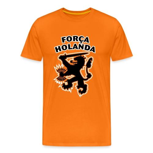 Força Holanda - WK Brazilië - Mannen Premium T-shirt