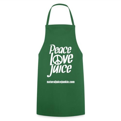 Peace Love Juice Apron - Cooking Apron