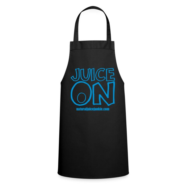 Juice On Apron (blue print)
