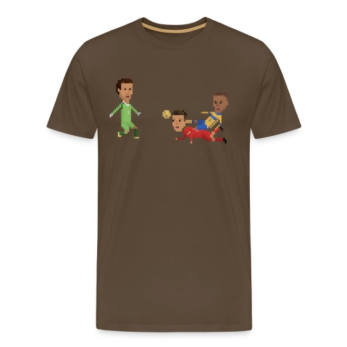 Men T-Shirt - Portuguese diving header - Men's Premium T-Shirt