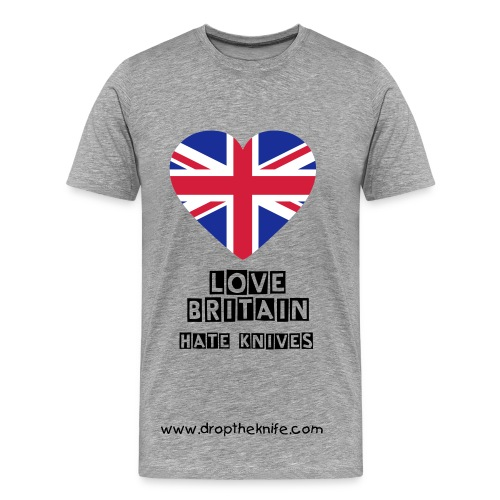 Men's Love Britain T-Shirt - Men's Premium T-Shirt