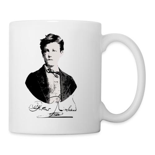 Tasse Arthur Rimbaud - Mug blanc