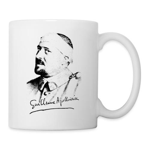 Tasse Guillaume Apollinaire - Mug blanc