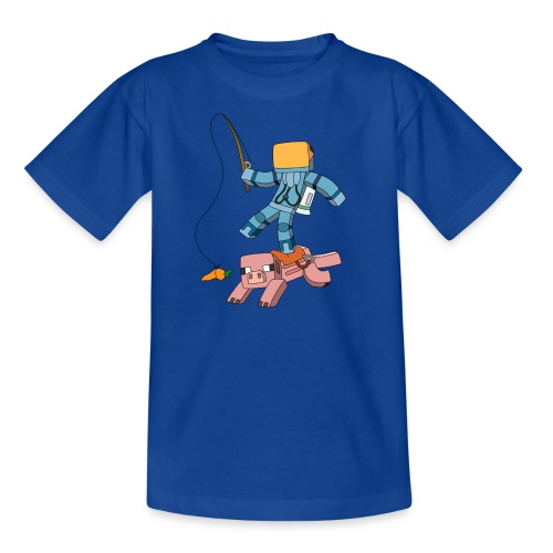 Kid's T-Shirt: Carrot on a Stick - Kids' T-Shirt
