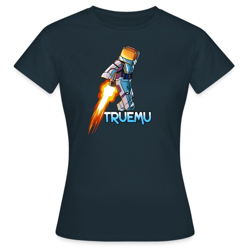 Women's T-Shirt: Jetpack TrueMU! - Women's T-Shirt