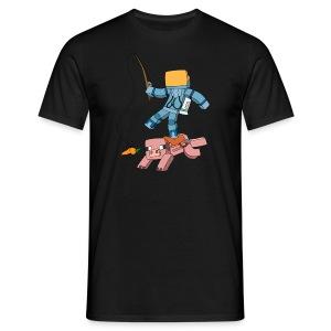 Men's T-Shirt: Carrot on a Stick - Men's T-Shirt