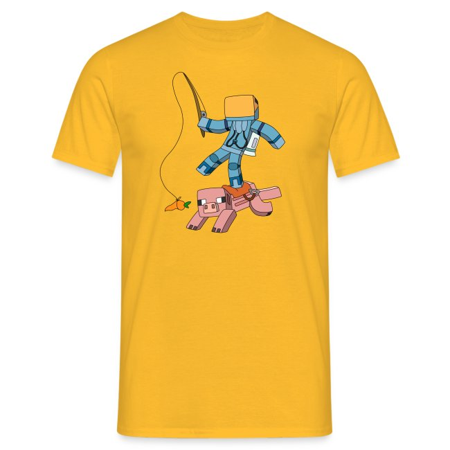 Men's T-Shirt: Carrot on a Stick