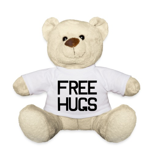 Free Hugs Teddy Bear - Teddy Bear